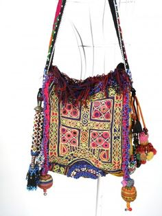 http://www.artfire.com/ext/shop/studio/bohemiantouch/1/1/7262//  Hippie bag made from vintage textiles !!! Casual Chic and eco friendly    Bohemian Hippie look Handmade Women vintage tribal fabric 100% handmade Beautiful Casual Chic Multicolor Boho Bag made from vintage hill tribe fabric.
