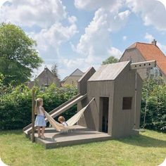 Modern Playhouse, Playhouse Outdoor, Shed Design, Garden Design, Shed Conversion Ideas, Pergola, Design Jardin, Home And Garden Store, She Sheds