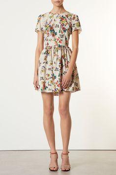 topshop tapestry dress