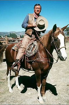 John Wayne And His Horse Dollar