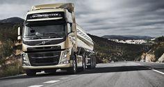 Volvo FM driving uphill
