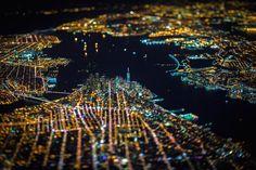 Night Over New York: Atemberaubende Luftaufnahmen bei Nacht | WIRED Germany