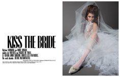 KISS THE BRIDE par Inez & Vinoodh