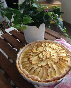Tarte de maçã sem gluten