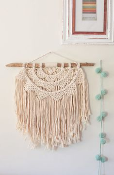 This is a word that modern Greeks often use to describe what happens when you leave a piece of yourself (your soul, creativity, or love) in your work. This macramé is handmade and may differ slightly in design. Polka Dot Walls, When You Leave, Wood Sizes, What Happens When You, Meraki, Wall Patterns, Dream Catcher, Macrame, Range