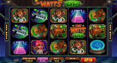 Kasino peli Dr. Watts Up on hyvä Microgaiming kolikkopeli netissä! Aloitta heti pelata tämän kolikkopeli ja näet kuinka helppo pelata ja voitta rahaa netissä! Kolikkopelissa on hyvät bonuspeli, erikoinen grafiikka, 5 rullat ja 243 voittolinjat + mitä antaa kaikkille mahdoliuus voitta suuret voittot verkossa!