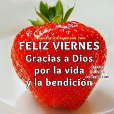 Centro Cristiano para la Familia: Feliz Viernes. Gracias a Dios por la vida que nos...