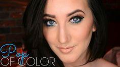 Makeup Tutorial   Pop of Color