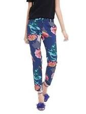 NWT Banana Republic Avery Fit Floral Crop Pant in Silky Floral Cool sz 6 P