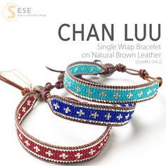 Rakuten: CHAN LUU Tran Lou Single Wrap Bracelet on Natural Brown Leather single wrap Bracelet (brand goods / bracelets / Accessories / Acces. Candy Jewelry, Bead Jewellery, Jewelry Crafts, Beaded Jewelry, Vintage Jewellery, Antique Jewelry, Seed Bead Bracelets, Wrap Bracelets, Diy Bracelet