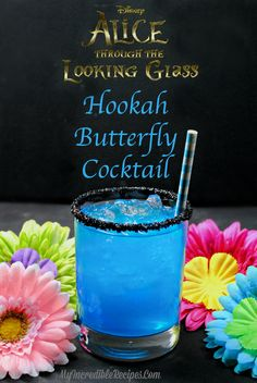 Hookah Butterfly Cocktail [looks yum! Want to make]