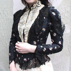 Antique Victorian corsage Blouse / / 1890s 1900s a fait
