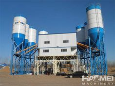 Specifications of Concrete Batching Plant HZS series Ready Mix Concrete Plant, also named as concrete mixing plant, is designed by our company and it has advanced technology in the world. It is suitable for the commodity concrete and concre Ready Mixed Concrete, Mix Concrete, Concrete Mixers, Cement, Modular Structure, Plant Sale, Wind Turbine, Stationary, Plants