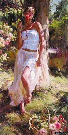 романтические образы женщин в живописи: 17 тыс изображений найдено в Яндекс.Картинках
