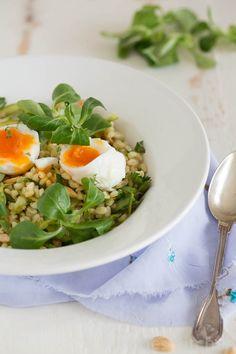 Pearl Barley with asparagus – Donna Hay #9