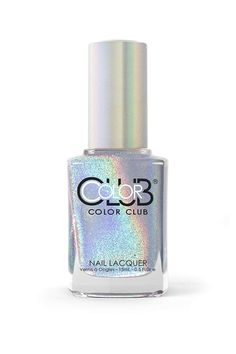 For beauty enthusiasts who love a bit of sparkle but aren't ready for Cardi B bling, try a holographic hue like the Color Club Halographic Hues Nail Polish Halographic Nails, Cute Nails, Nail Polishes, Color Club Nail Polish, Gel Polish, Stars Nails, Led Nail Lamp, Diy Kit, Holographic Nail Polish