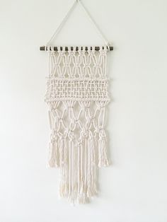 """Macrame Wall Hanging -""""Tiny Dancer"""" by Melissa Jean Made"""