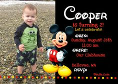 mickey mouse birthday party ideas | The colors were primary colors taken from the Mickey Mouse Clubhouse ...
