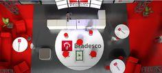 Camarote 3D -  infografia BRADESCO.