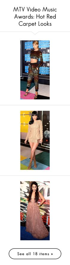 """""""MTV Video Music Awards: Hot Red Carpet Looks"""" by polyvore-editorial ❤ liked on Polyvore featuring MTV"""