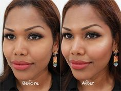Highlight and contour for everyday woman | medium/dark skin tone - YouTube