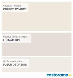 Nancier peinture couleur taupe et lin | Salons, Decoration and Diy ...