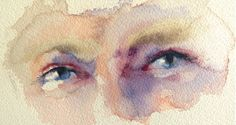 In her second article on portraits Hazel Soan looks more closely at the eyes, nose and mouth – what to look for, what to include and what to leave out Watercolor Portrait Tutorial, Watercolour Tutorials, Watercolor Portraits, Watercolor Face, Watercolour Painting, Painting & Drawing, Potrait Painting, Watercolours, Drawing Tips