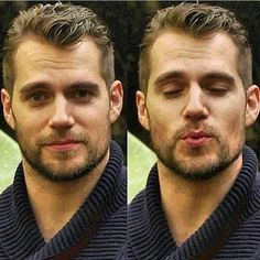 Oh my! Yes Henry, Yes! Kisses from @henrycavill.