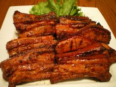 Inihaw na Liempo or Grilled Pork Belly needs no introduction at all. The name of the dish already defines itself. This is one good food that I really like because of its simple preparation and magnificent taste.