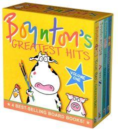 Boynton's Greatest Hits: Mo, Baa, La La La!/A to Z/doggies/bluehat, Green Hat (Boynton Board Books)