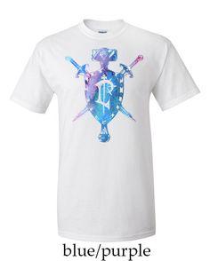 Alliance Human Crest World of Warcraft Mens T-shirt