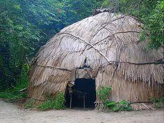 ManyHoops.com - Wampanoag homes