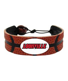 Take a look at this Louisville Classic Basketball Bracelet by GameWear on #zulily today!