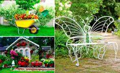 22 idées récup' pour réaliser le plus beau des jardins !