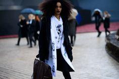 Street Style | Luisana Gonzalez | Paris