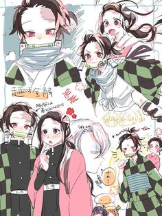 I think a storyline with nezuko as the demon slayer and tanjiro as the demon would be really interesting. - - Anime: Kimetsu no Yaiba Credits to original artist! Anime Meme, Otaku Anime, Manga Anime, Anime Art, Fanarts Anime, Anime Characters, Demon Hunter, Estilo Anime, Dragon Slayer