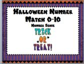 Halloween Number Match 0-10 product from Live-Love-Laugh on TeachersNotebook.com