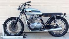 '74 Kawasaki KZ 400 - Built by James Rose