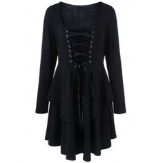 SHARE & Get it FREE | Plus Size Lace-Up Layered Flare DressFor Fashion Lovers only:80,000+ Items·FREE SHIPPING Join Dresslily: Get YOUR $50 NOW!