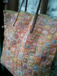 Luccello - SOPHIE DIGARD HANDBAG - crochet: