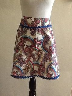 Retro Butterfly Apron  on Etsy, $25.00