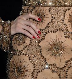 Valentino gold details