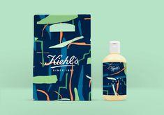 Kiehl's-Papier Fruité Concept Designed by Don't Try Studio