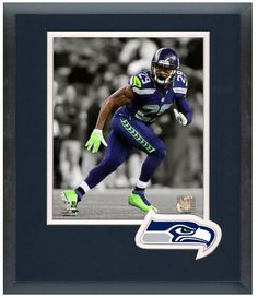 "Earl Thomas 2013 Seattle Seahawks - 11"" x 14"" Framed & Matted ""Spotlight Photo"""