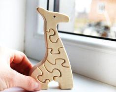 Puzzle Toy  Wooden Puzzle elephant  Educational toys
