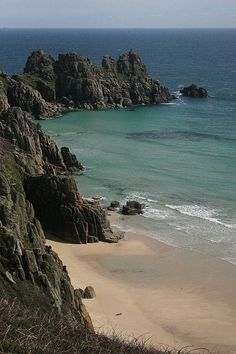 Cornwall... Porthcurno Beach. My favourite