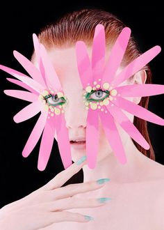 Hunger Magazine's Synaesthesia Story Boasts Conceptual Cosmetics #makeup trendhunter.com