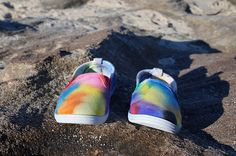 Check out this item in my Etsy shop https://www.etsy.com/listing/544903669/kids-tie-dye-shoes-size-9