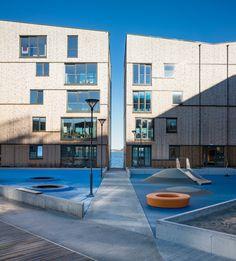 AART architects the waterfront residences stavanger norway designboom