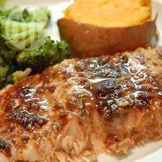 Filets de saumon au vinaigre balsamique @ allrecipes.fr